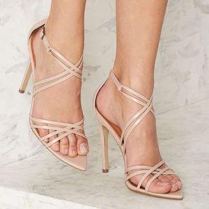 Nasty Gal Santana Strappy Heel
